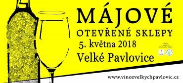 Májové otevřené sklepy 2018 Velké Pavlovice