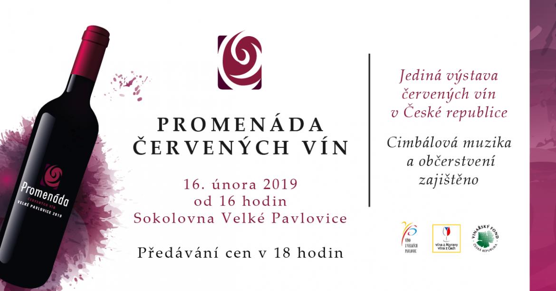 Promenáda červených vín 2019