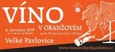 Víno v oranžovém 2019